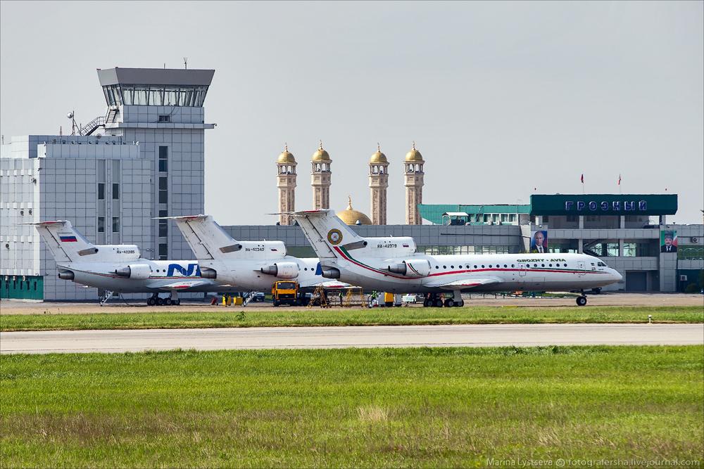 Аэропорт Грозный Северный