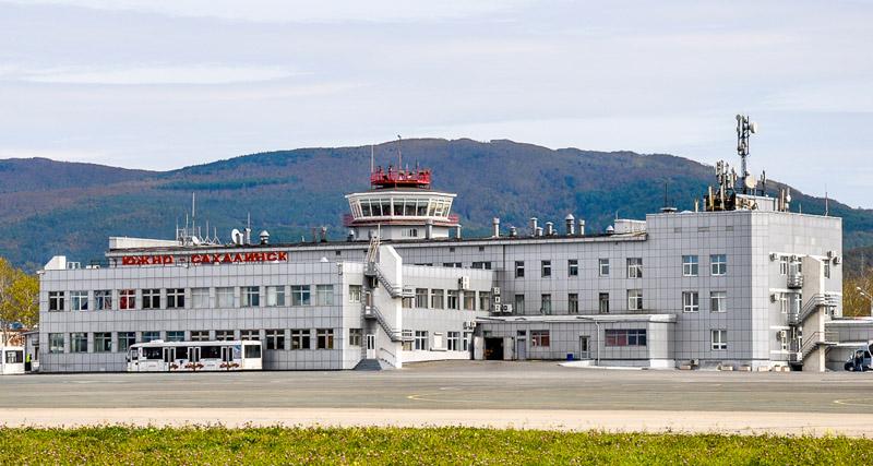 Здание терминала аэропорта Хомутово