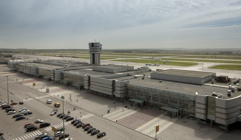 Аэропорт Кольцово Новое здание