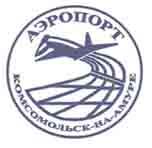 Логотип аэропорта Комсомольск-на-Амуре (Хурба)