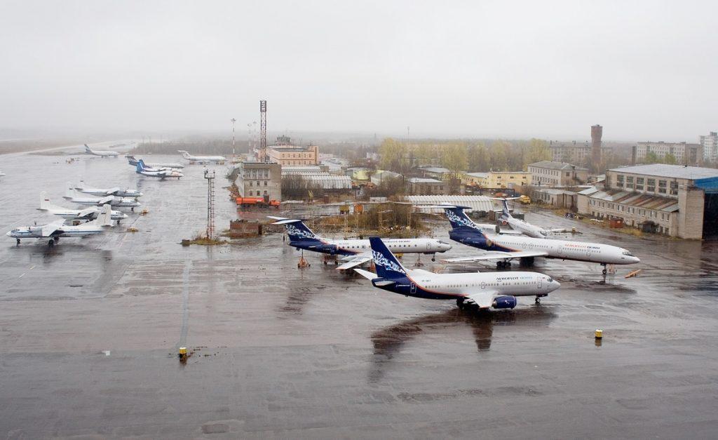Аэродром Архангельск (Талаги)