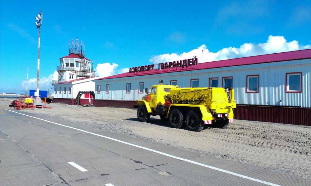 Аэропорт Варандей