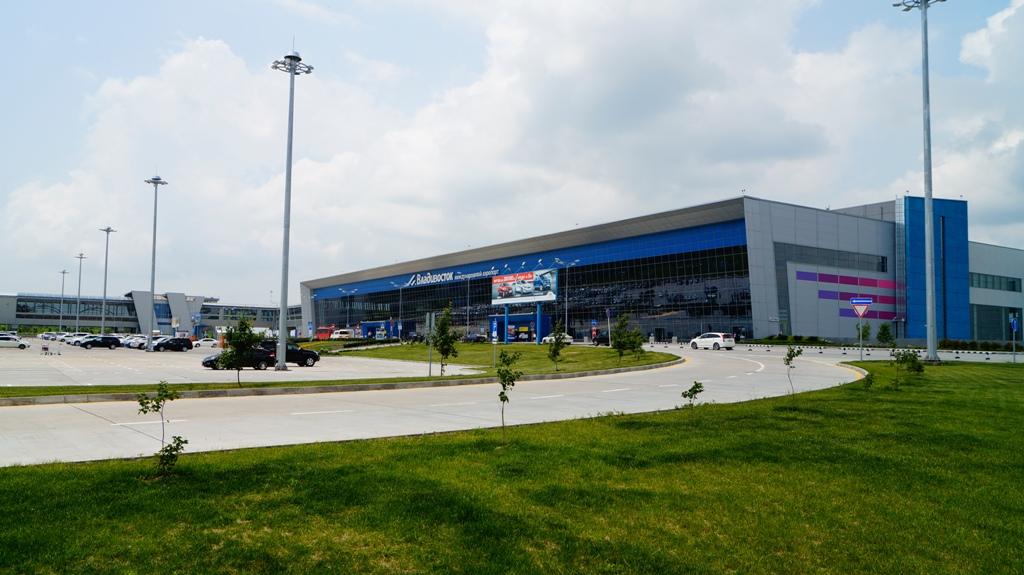 Терминал аэропорта Владивосток