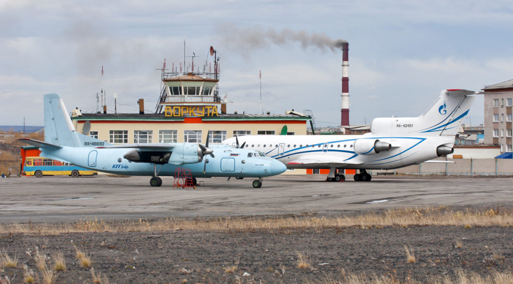 Аэродром Воркута