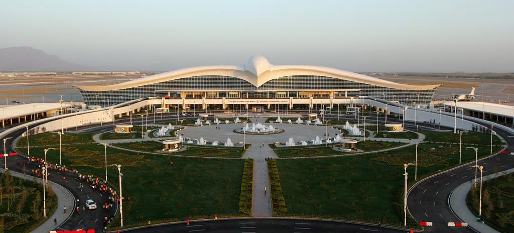 Новый аэропорт Ашхабат «Огузхан»