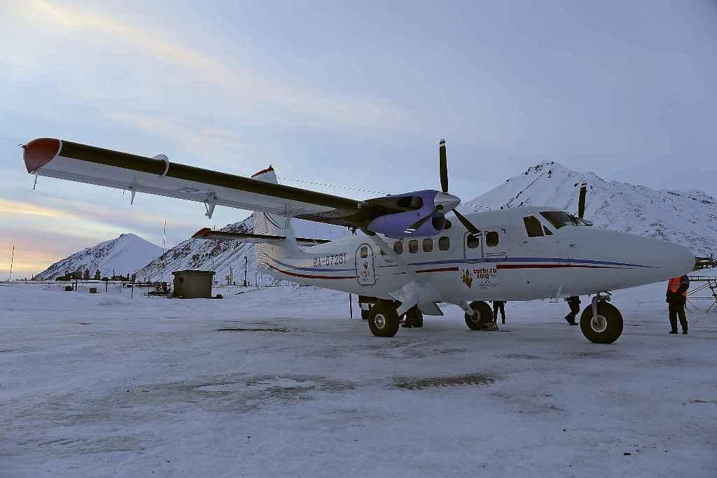 DHC-6 Авиакомпании ЧукотАвиа