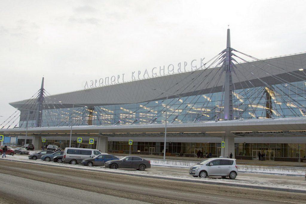 Новый терминал аэропорта Емельяново Красноярск