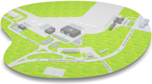 План аэропорта Жуляны