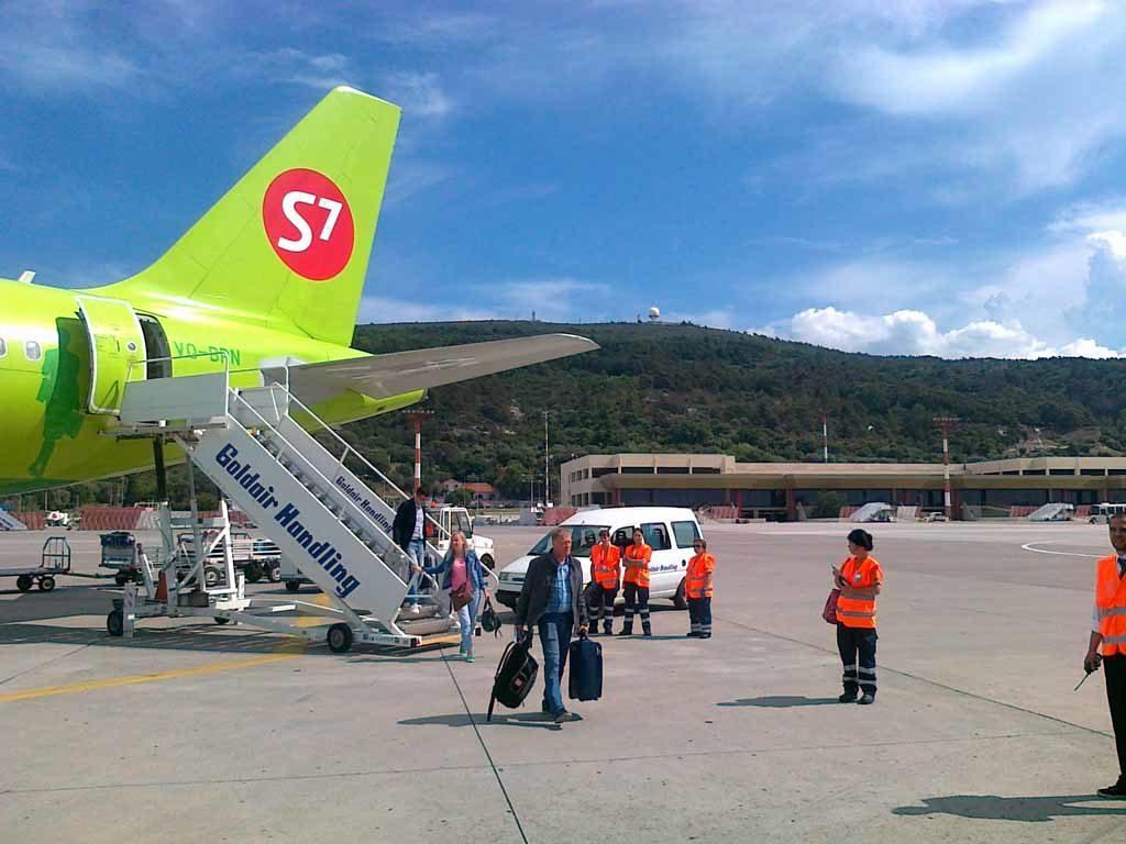 Авиакомпания Сибирь на острове Родос аэропорт Диагорас