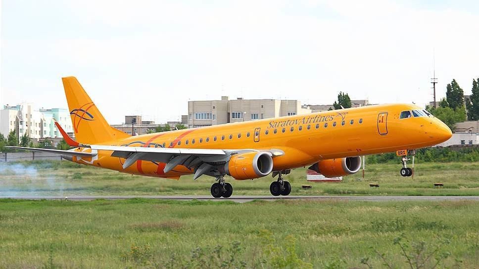 ERJ-190 авиакомпании Саратовские авиалинии