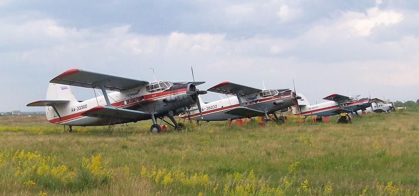Ан-2 авиакомпании СИБИА