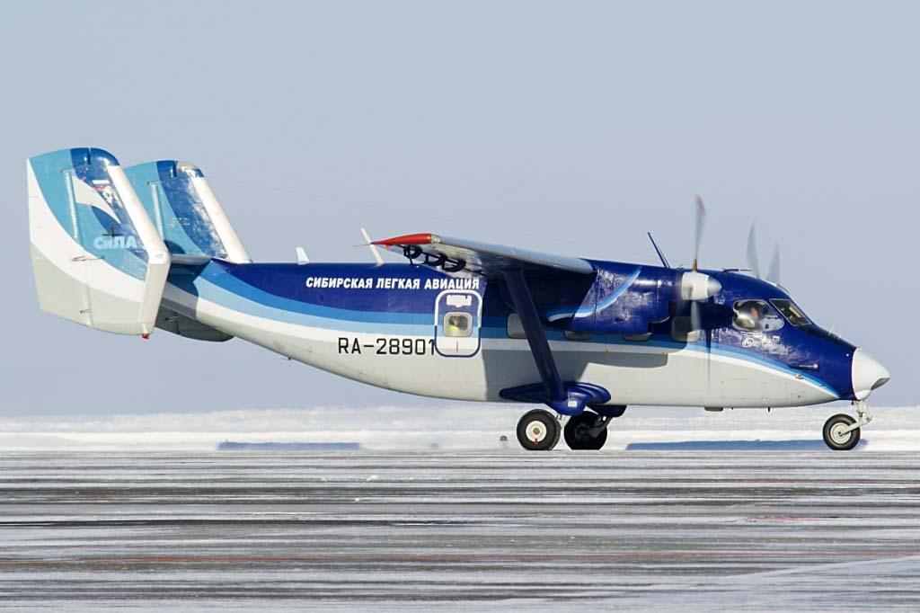 Ан-28 авиакомпании СиЛА