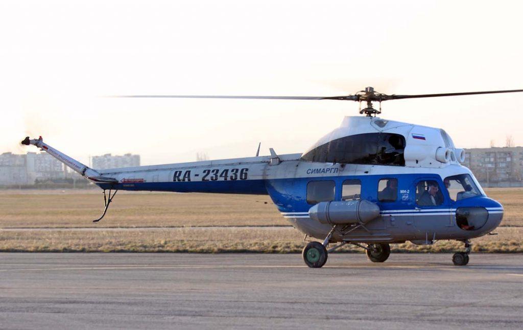 Ми-2 авиакомпании СИМАРГЛ