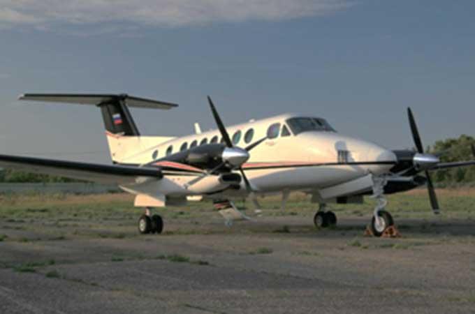 Beechcraft King Air-350 авиакомпании Меридиан+