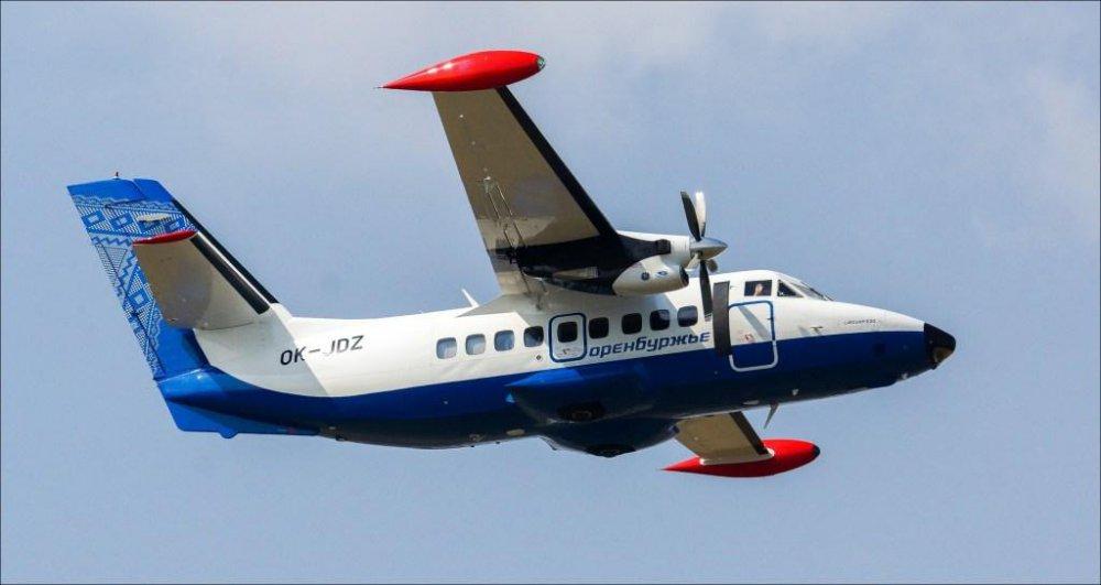 Л-410 Авиакомпании Оренбуржье