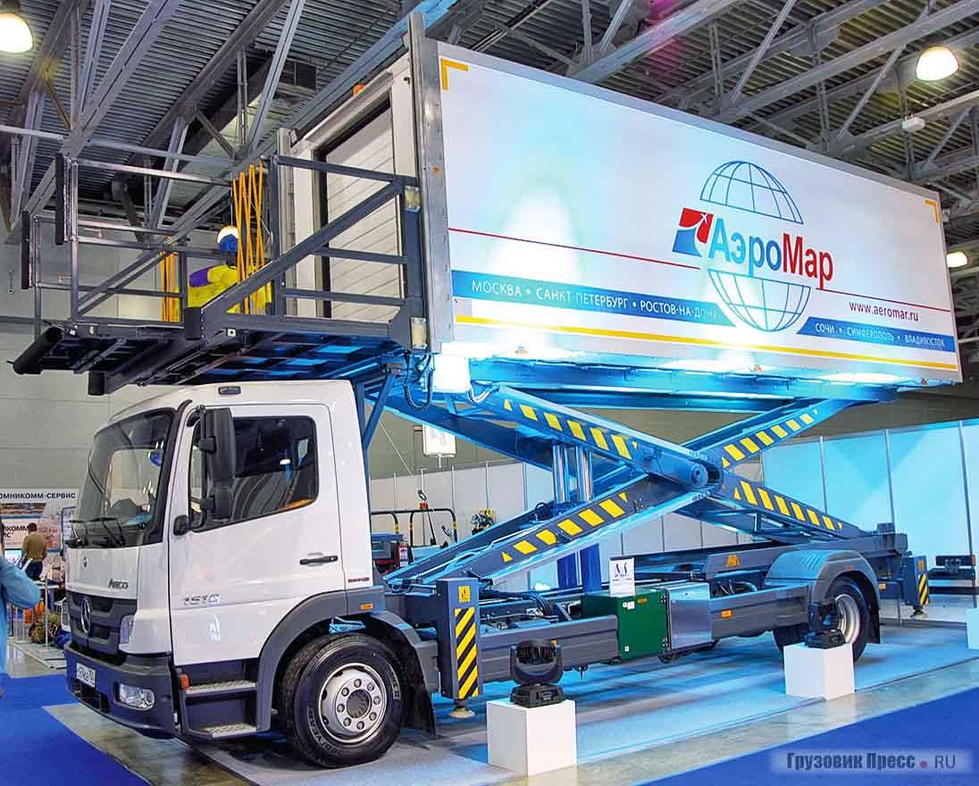 Универсал-Аэро - автомашины с подъёмным кузовом, средства перронной механизации