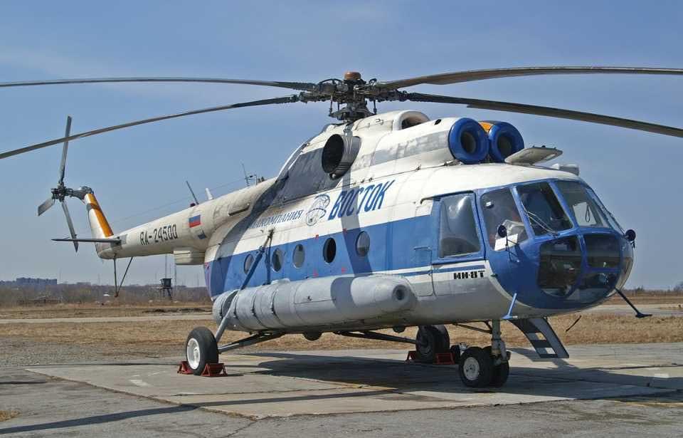 Ми-8 авиакомпании Восток