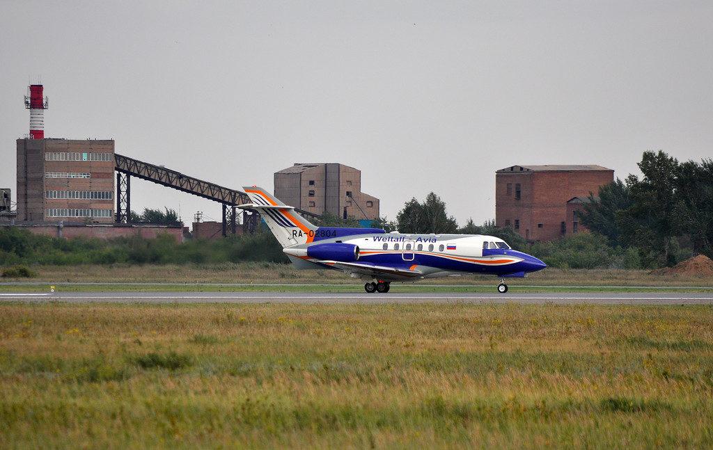 BAe-125-700 Авиакомпании Вельталь-авиа