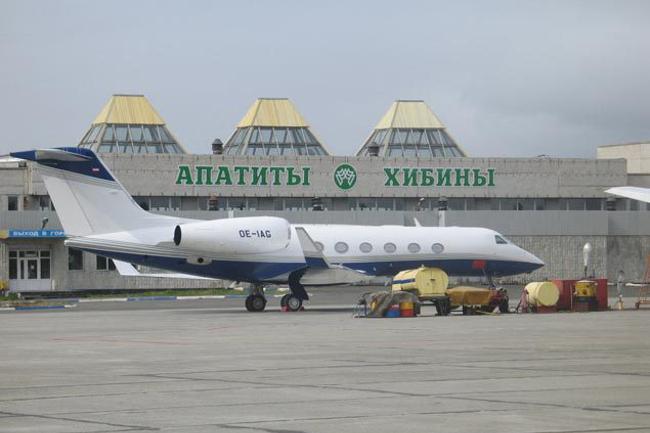 Аэропорт Апатиты Хибины