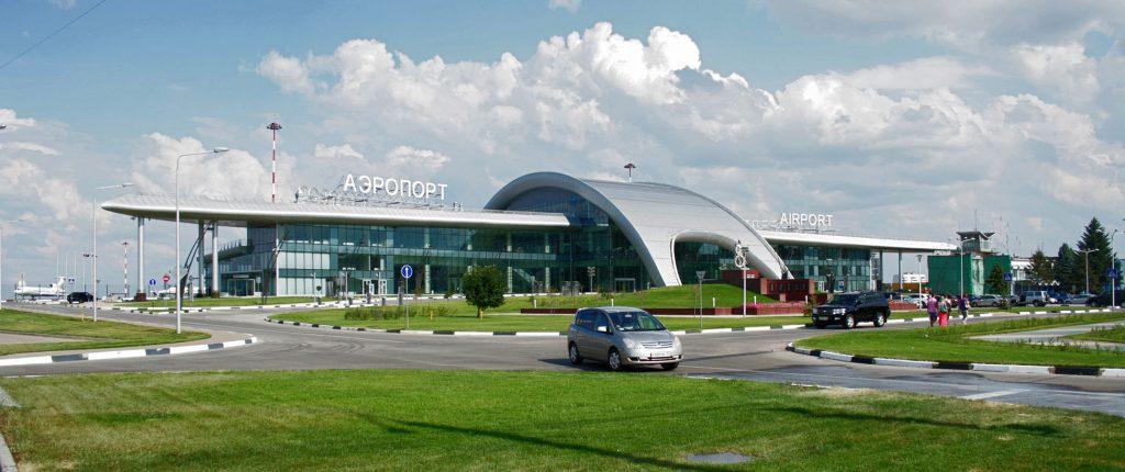 Здание нового пассажирского терминала аэропорта Белгород