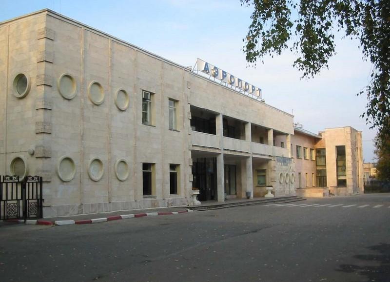 Аэровокзал аэропорта Чебоксары