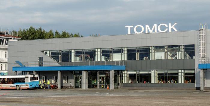 Терминал аэропорта Томск