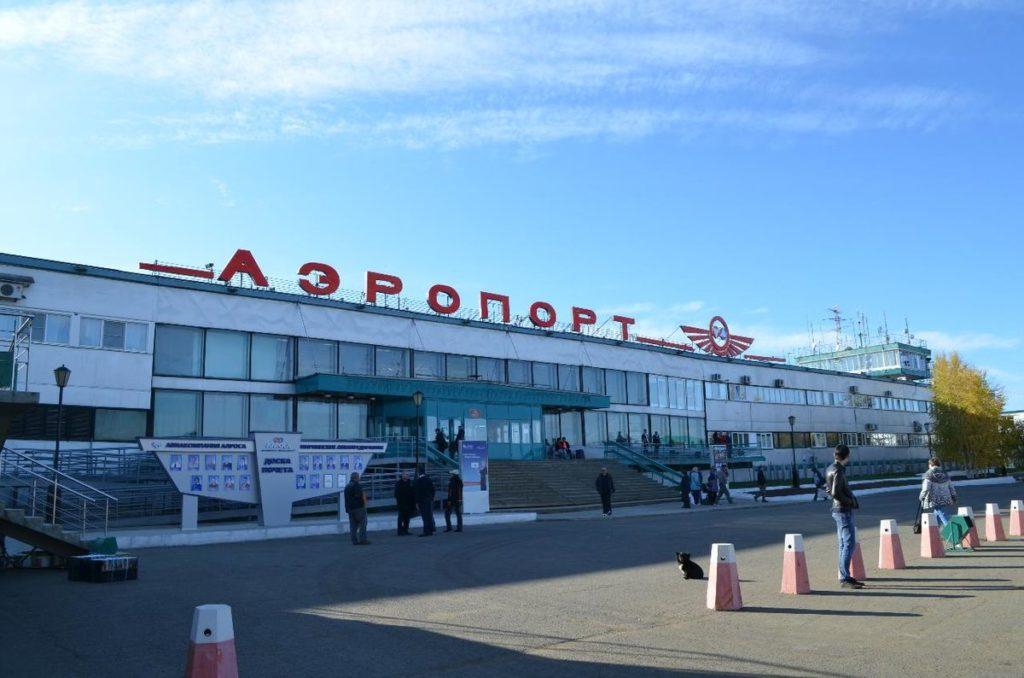 Аэропорт Мирный