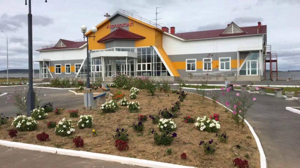 Аэропорт Николаевск-на-Амуре