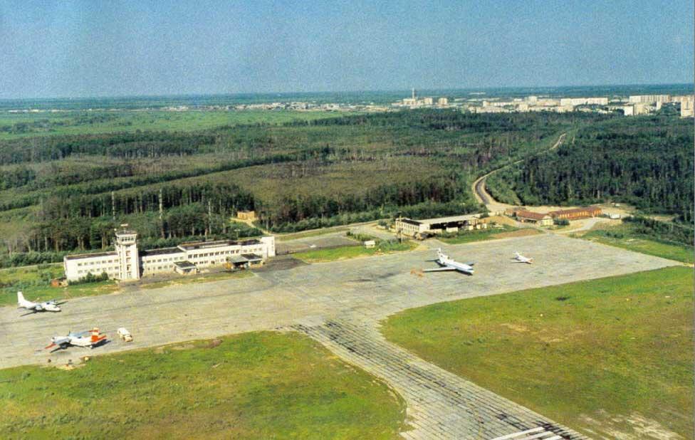 Аэродром Стрежевой