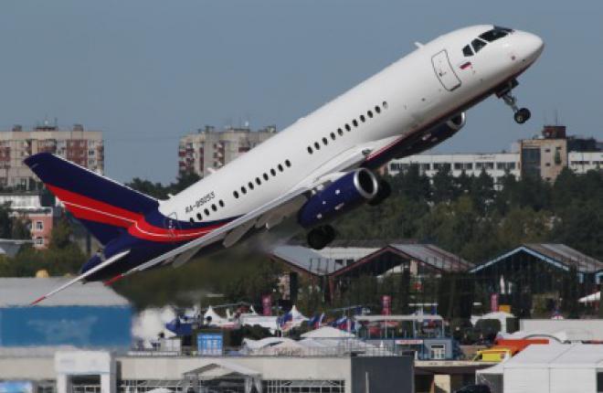 SSJ-100 авиакомпании РусДжет