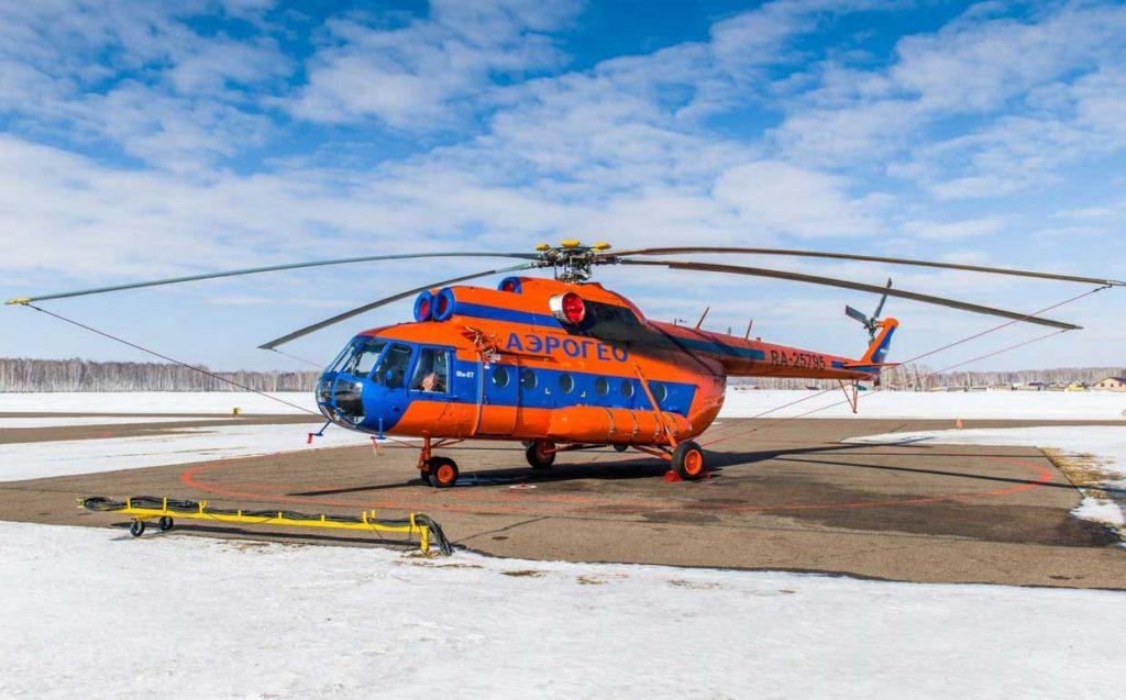 Ми-8 авиакомпании АэроГео