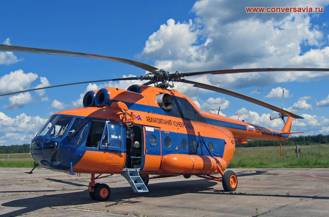 Ми-8 Авиакомпании Конверс Авиа