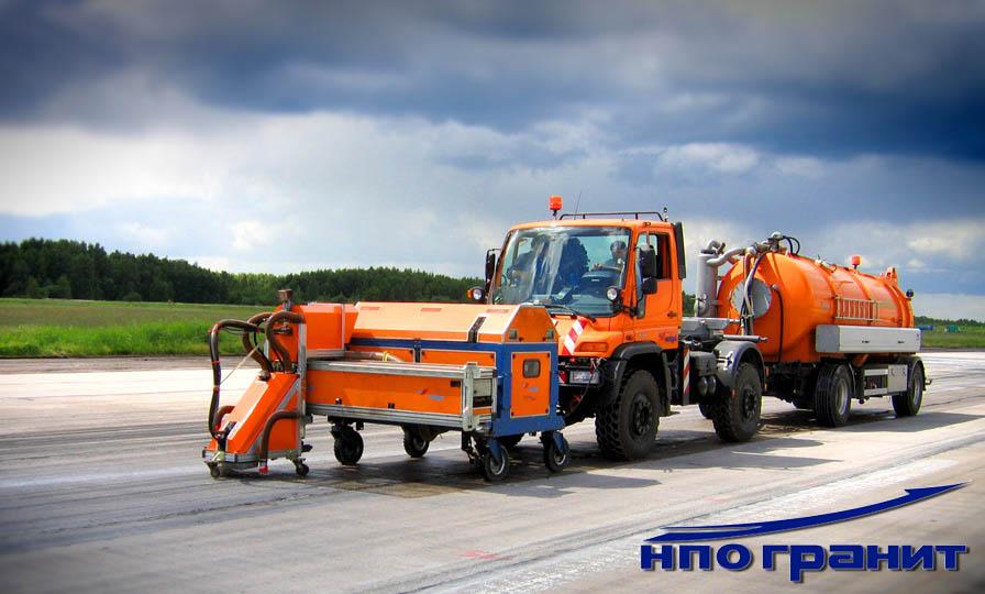 Гранит НПО - оперативный ремонт ИВПП и других аэродромных покрытий