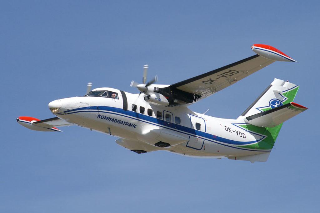 Л-410 авиакомпании Комиавиатранс