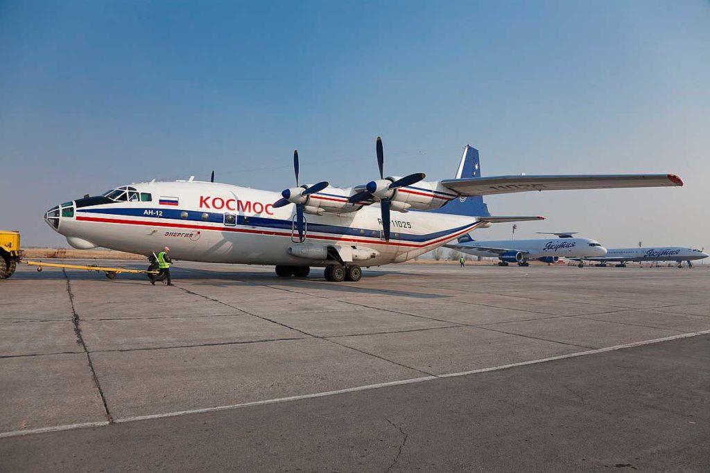 Ан-12 авиакомпании Космос