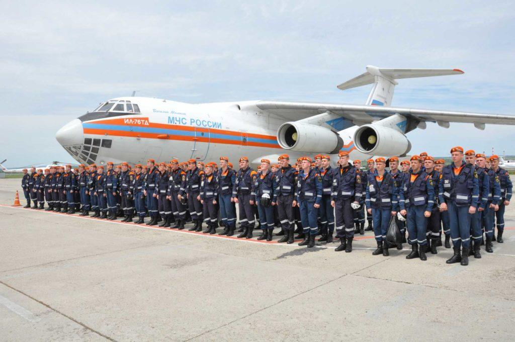 МЧС РОССИИ авиакомпания