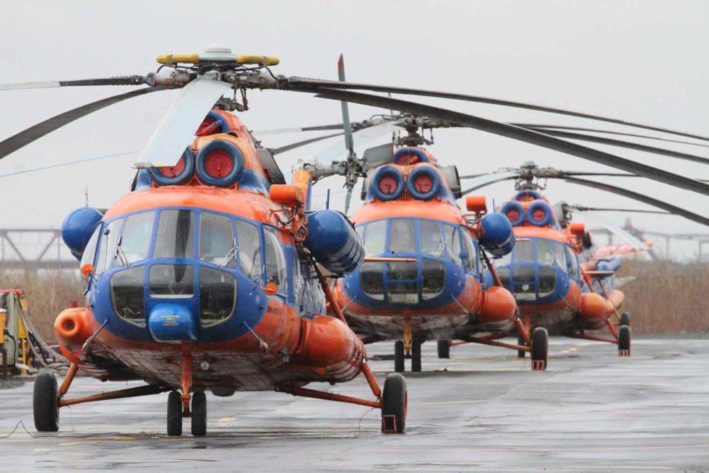 Ми-8 авиакомпании Норильск Авиа