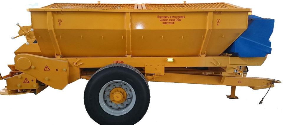 СТРОЙКАПИТАЛТЕХНО - Оборудование и машины для нанесения противогололедных материалов