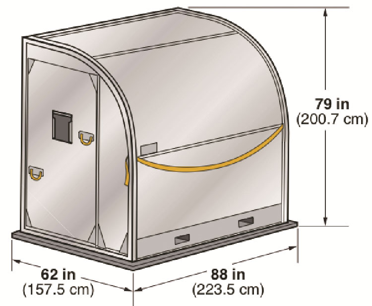 авиационный грузовой контейнер DEMI