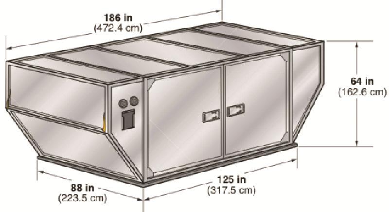 Авиационный грузовой контейнер LD-29 Рефрижератор