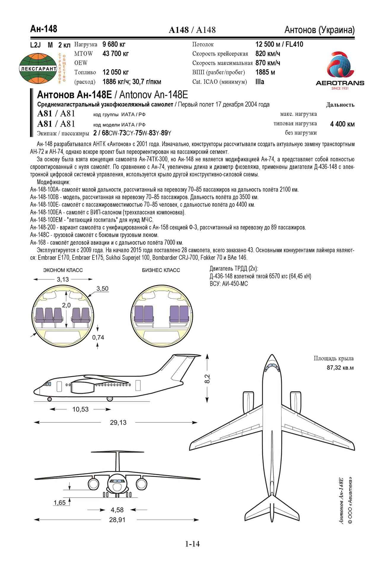 Antonov-An148