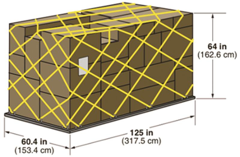 Авиационный грузовой контейнер PLA