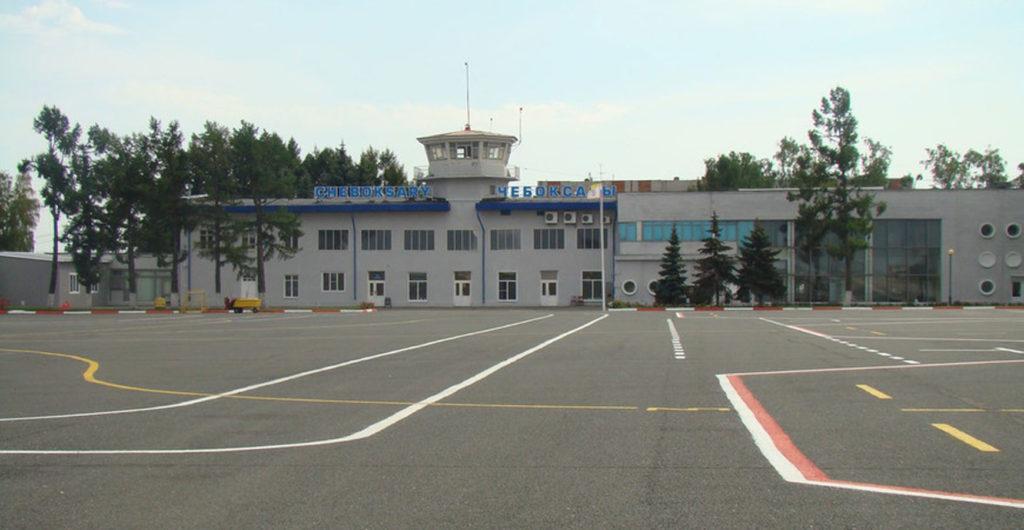 Стоянки воздушных судов на аэродроме Чебоксары
