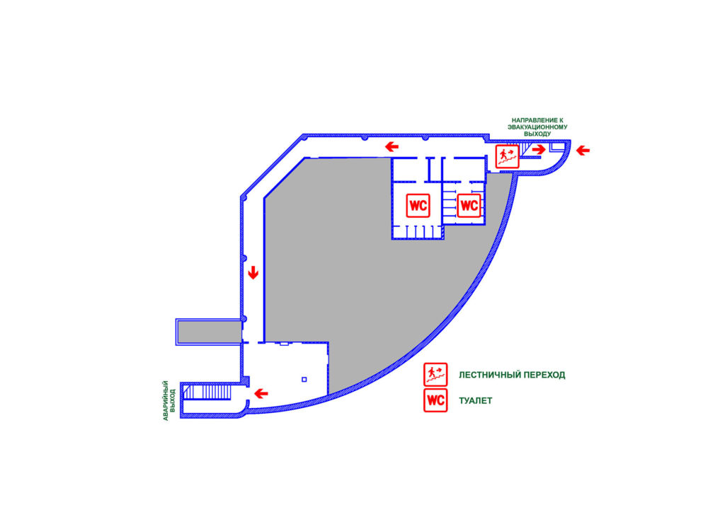 Цокольный этаж терминала