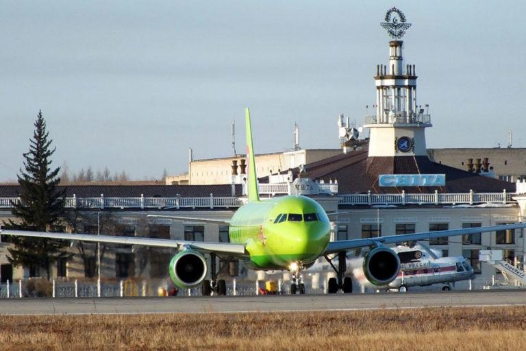 Аэропорт Чита. Перрон