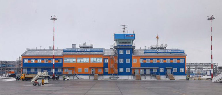 Онлайн табло вылета и прилета Аэропорт Сабетта