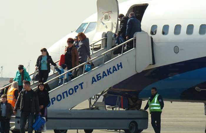 аэропорт Абакан прилет