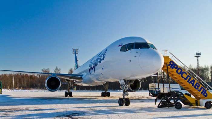 Аэропорт Ярославль. Онлайн табло. Расписание рейсов