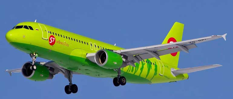 Авиакомпания Сибирь S7 Airlines