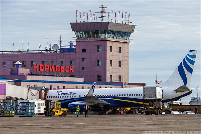Аэродром Норильск
